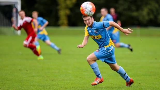 Robbie Pearson in action for Nelson Suburbs.