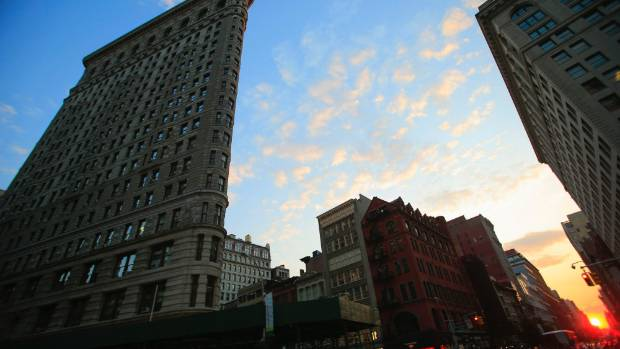 The Flatiron Building has become a New York icon.