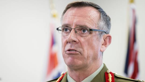 Will Chief of Defence Force Lieutenant General Tim Keating add Labour's Andrew Little to the list of those shown ...