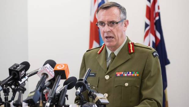 The Chief of Defence Force Lieutenant General Tim Keating briefed Defence Minister Gerry Brownlee on Friday that there ...