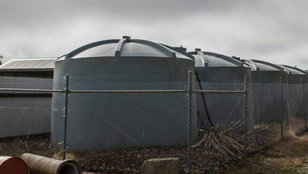 The Whataroa water treatment plant has attracted controversy.