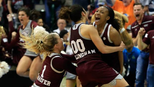 Mississippi State, South Carolina in women's title game