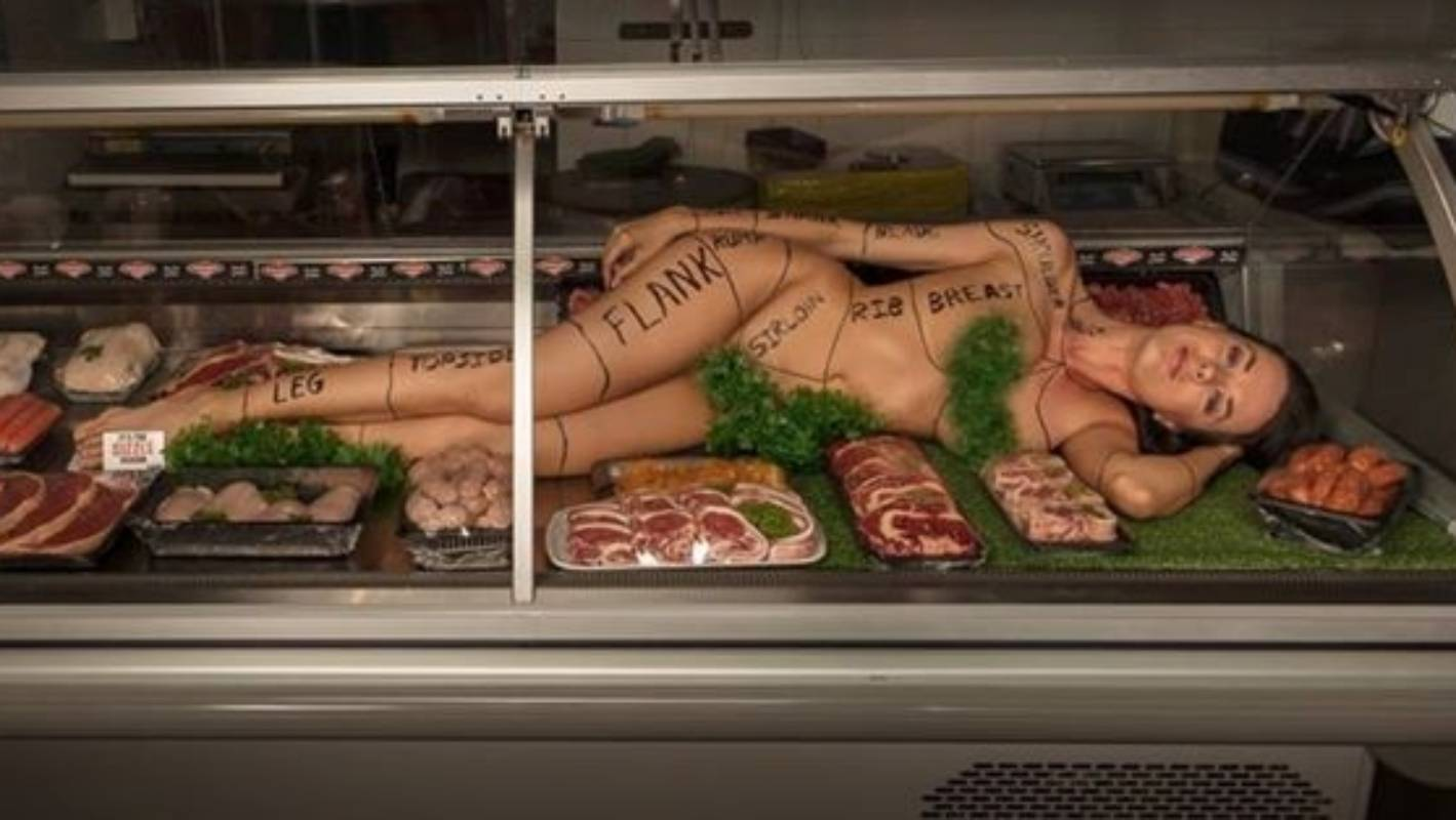 Naked meat