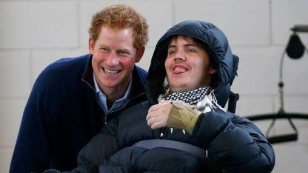 In 2015, newly tetraplegic Ben Clifford met Prince Harry at the Auckland Spinal Unit.