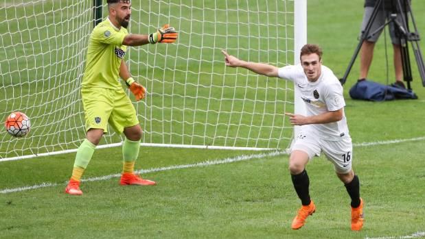 Ben Harris scored both of Team Wellington's goals in Sunday's final.