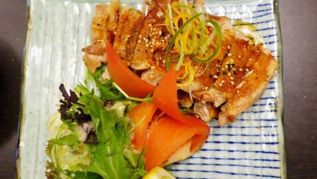 The nanban chicken from the teppan menu.