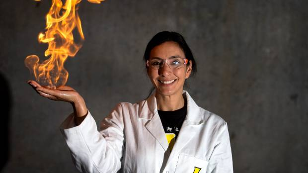 Nanogirl, Dr Michelle Dickinson is bringing science, technology and engineering to life for young people right across ...