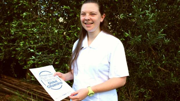 Scarlett Parkes from Auckland Girls' Grammar wants to see less competition in schools.