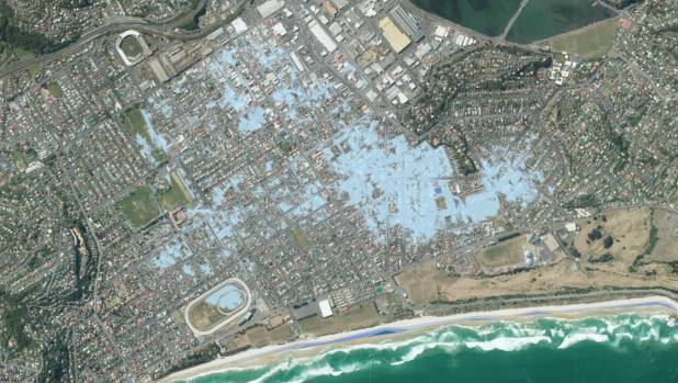 Risks To Lowlying South Dunedin Revealed In Sealevel Rise Maps - Water rising map