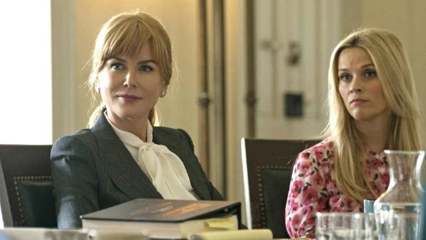 Nicole Kidman and Reese Witherspoon in Big Little Lies - it's rare for a TV show to focus on the lives of women like ...