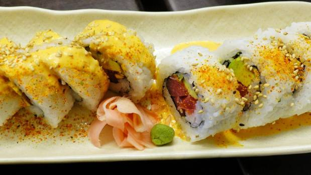 The spicy tuna roll is one of the restaurant's biggest sellers.
