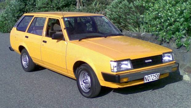 Leo Lipp-Neighbours' distinctive Toyota Corolla station wagon.
