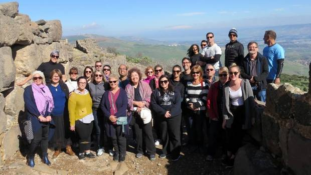 Members of the Holocaust Centre of New Zealand travelled to war-torn countries to help educate students to help make a ...