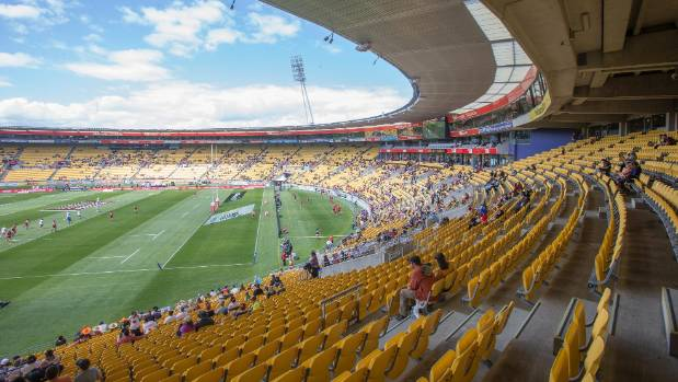 Despite the best efforts of New Zealand Rugby, attendance at this year's Wellington Sevens fell well short of previous years.