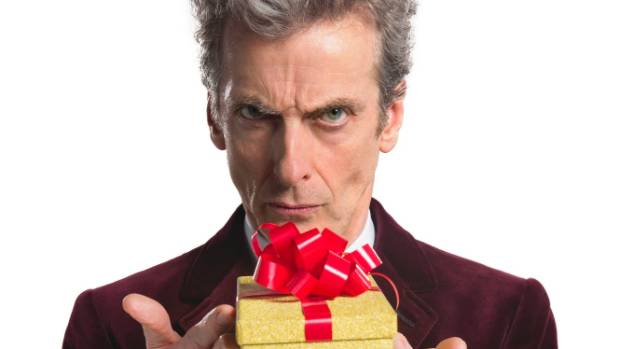 Peter Capaldi as the 12th Doctor.