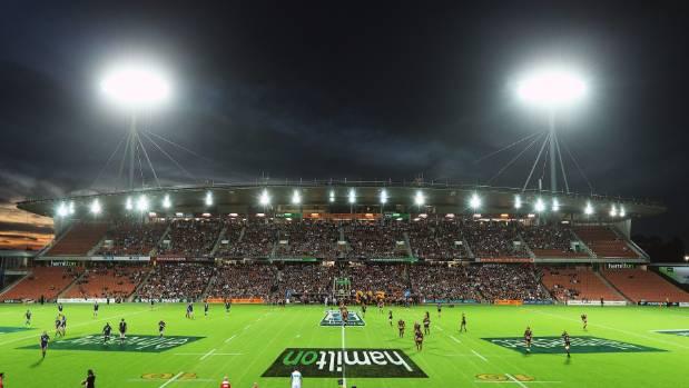 New Zealand's leg of the World Sevens Series will be played at Hamilton's Waikato Stadium in 2018.