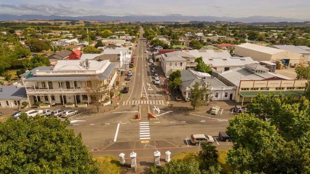 A magnitude-4.8 quake struck south of Martinborough at 10.58pm on Sunday.
