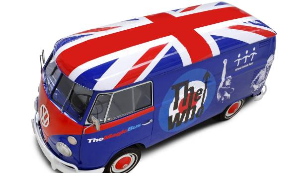 This iconic one-off van was created for a charity event in the UK back in 2008. The vans below are more of the mass ...