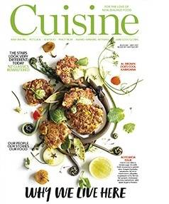 The May issue of Cuisine is on sale now.