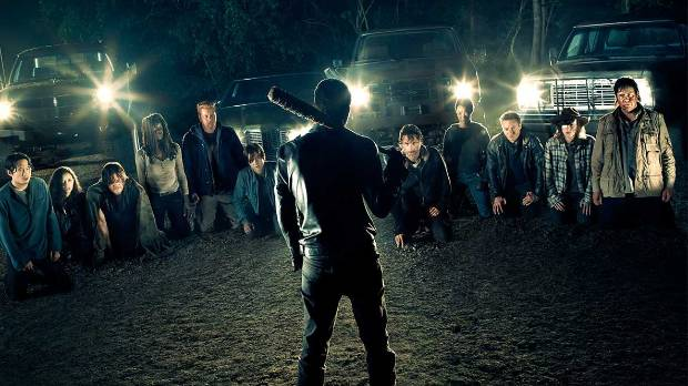 The Walking Dead was filming its eighth season when the tragedy happened