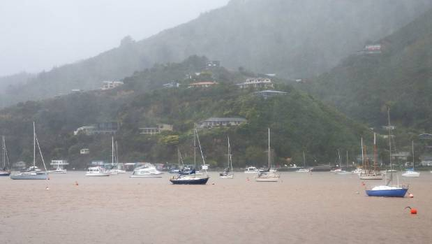 Waikawa, north of Picton, recorded 131 millimetres in the wake of the weather system.