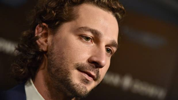 Shia LaBeouf attends the premiere of Man Down at ArcLight Hollywood in November.