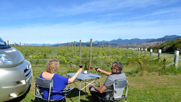 A night among the vines at Framingham Wines in Marlborough is on the cards for motorhome travellers looking for unusual ...