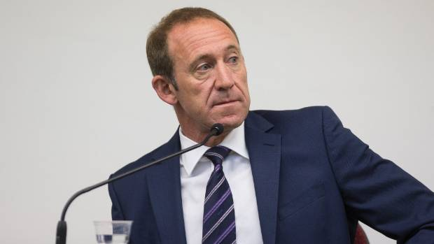 Labour leader Andrew Little takes the stand in his defamation case at the High Court in Wellington.