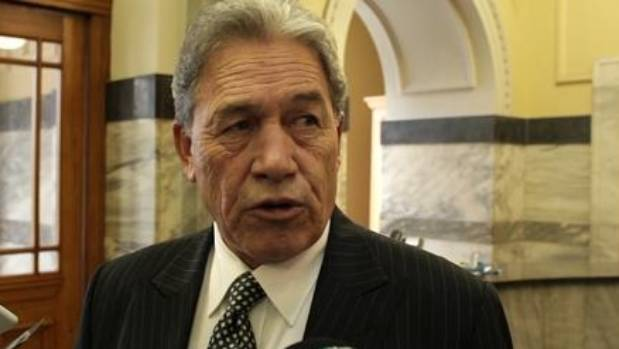 "Winston Peters said the changes were a ""con"" and ""a callous attempt to hold onto power""."