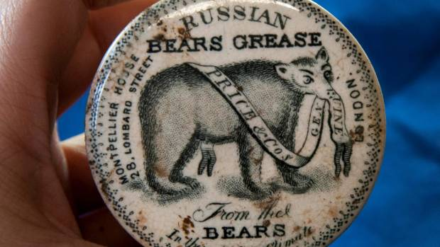 Russian Bears Grease was marketed as a hair growth product.