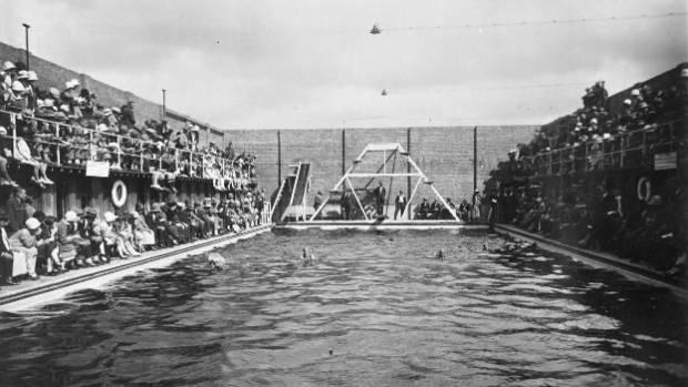 The Manawatu Baths, 1939.