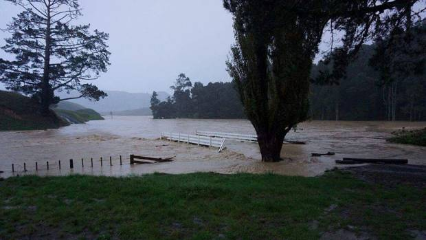 A day earlier, the tail end of Cyclone Debbie drenched North Waikato.