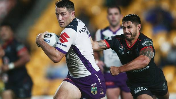 Melbourne Storm halfback Cooper Cronk announced he would be leaving the club at the end of the season.