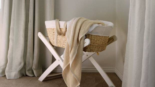 Goldie's bassinet, which came from Babycity.