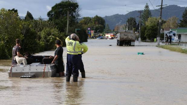 Boats from Surf Rescue Mt Maunganui were also called in to help.