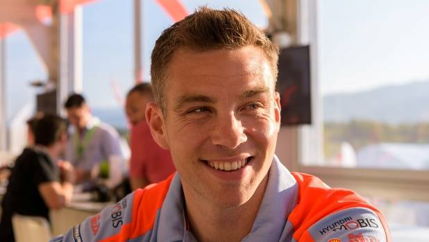 There was something to smile about for Hayden Paddon after stage one of Rally Portugal.