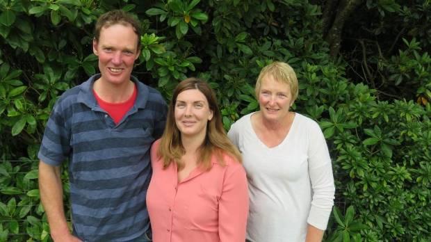 Southland Ballance Farm Environment Awards winners David, Alanna and Julie Clarke.