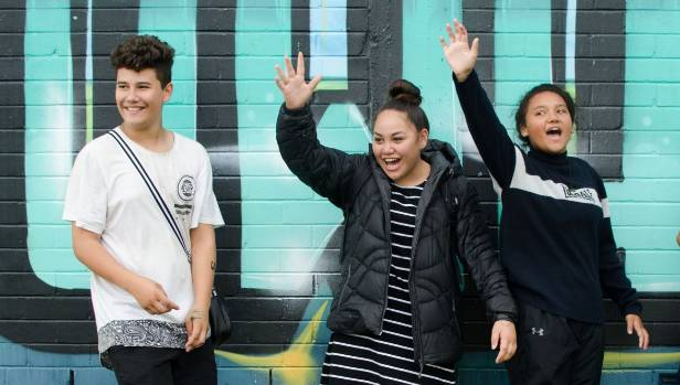 Jarrod, Chelsea, and Kaesha go to school at Te Kauwhata College and reckon the town is a pretty decent place to grow up.