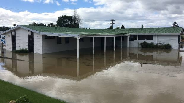 Thousands of people have been evacuated from Edgecumbe.