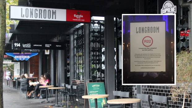 Auckland bar longroom 39 s under 22 age policy not illegal for Xi an food bar auckland