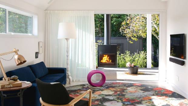 The couple's daughter, interior designer Amie Hammond, pushed for the floral rug, inspired by old Dutch paintings; the ...