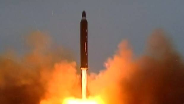 North Korea has reportedly launched a missile on its east coast which has failed.