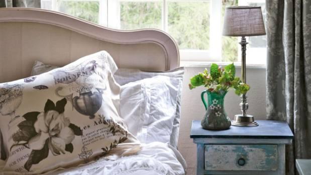 Bernadette and Henryk's bedroom.