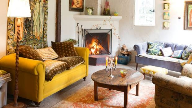 The sitting room is Bernadette Poczwa's favourite space..