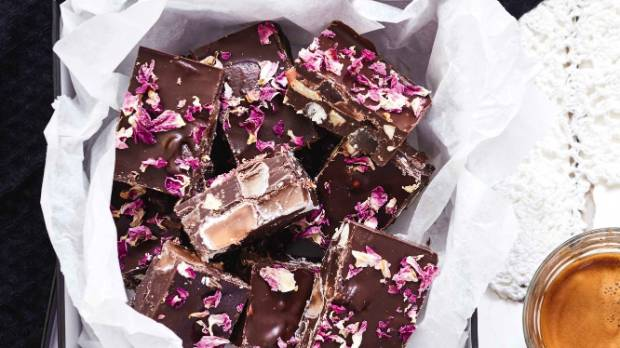 Rocky road with a sophisticated twist.