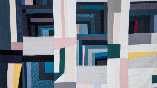 Christina Read: Quilt for my bed (detail).