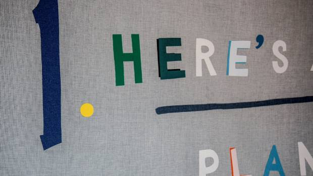 Christina Read,  1. Here's a Plan (things to do), fabric, (detail).