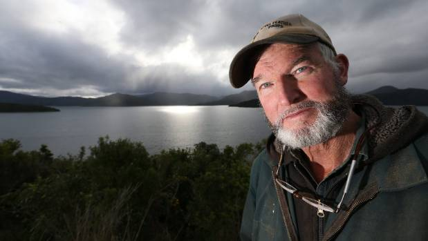 Marlborough Sounds environmentalist Peter Beech is organising a flotilla to protest a government proposal to relocate ...
