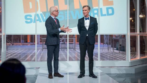 Tim Gunn is one of the many special guests appearing on Bill Nye Saves the World.