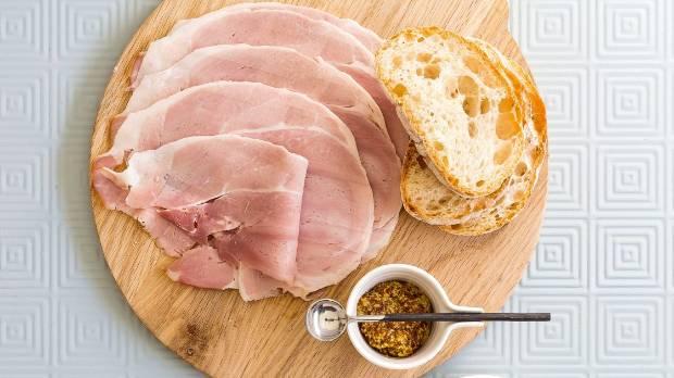 Grey Lynn Butchery free-farmed ham.